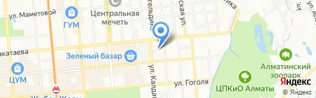 Kazprokat на карте Алматы