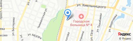 Nissan на карте Алматы