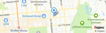 Магазин детской и женской одежды на карте Алматы