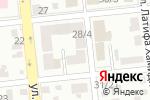 Схема проезда до компании Балжан в Алматы