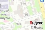Схема проезда до компании Крошка Ру в Алматы
