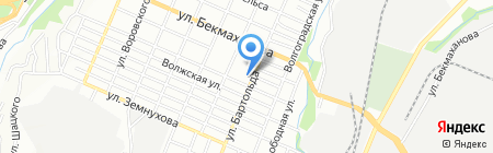 Почтовое отделение связи №28 на карте Алматы