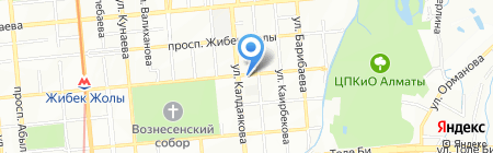 МАГАЗИН ПУТЕШЕСТВИЙ N.E.W.S. на карте Алматы