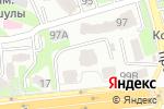 Схема проезда до компании Ademau в Алматы