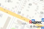 Схема проезда до компании Али-Баба в Алматы