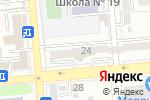 Схема проезда до компании DIM в Алматы