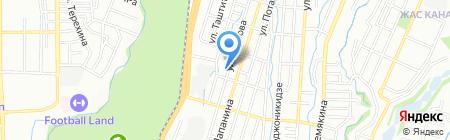 TRUNG NGUYEN на карте Алматы