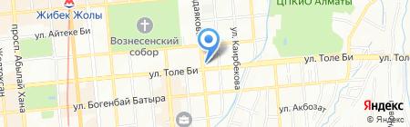MONROE на карте Алматы