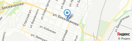 Нан-хлеб на карте Алматы
