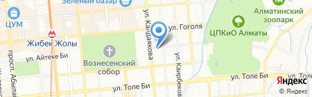 КАЗЭКОЛОГИЯ на карте Алматы