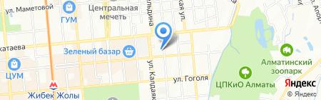 Top Style на карте Алматы