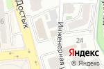 Схема проезда до компании Swiss American Academy в Алматы