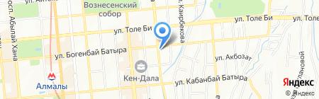 КАЗСЕЛЕЗАЩИТА на карте Алматы
