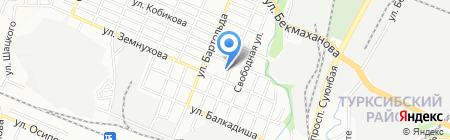 Общеобразовательная школа №11 на карте Алматы
