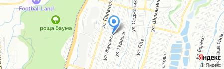 Заур на карте Алматы