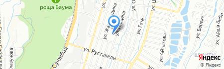 Созвездие на карте Алматы