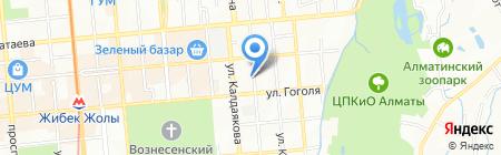 Kumis Alma на карте Алматы