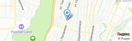 Берег на карте Алматы