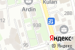 Схема проезда до компании НСК в Алматы