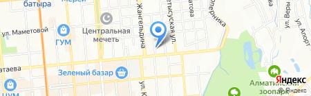 Скорая компьютерная помощь на карте Алматы
