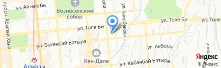 PROGRESSION CA на карте Алматы