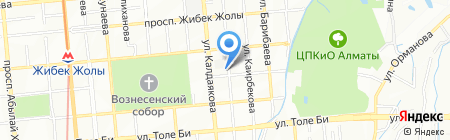 MegaMedia Communication на карте Алматы