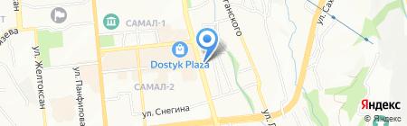 Antal Kazakhstan на карте Алматы