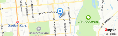 Кранкмастер на карте Алматы