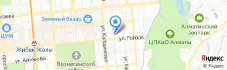 FitCurves на карте Алматы