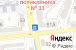 Схема проезда до компании Almaty Tutoring в Алматы