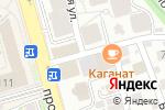 Схема проезда до компании BODESIGN в Алматы