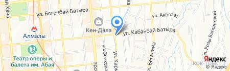 Forbes' t на карте Алматы