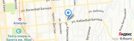 CALISTA VIP TRAVEL на карте Алматы