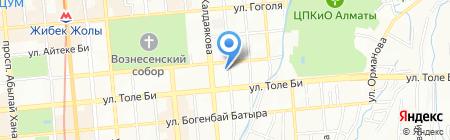 Шиномонтажная мастреская на карте Алматы