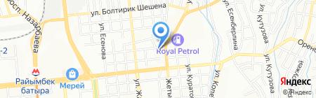 Центр противопожарного оборудования на карте Алматы