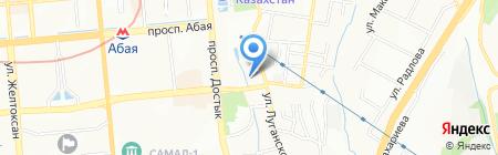 ENCE GmbH торговая компания на карте Алматы