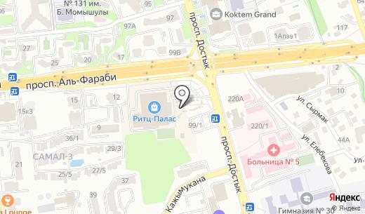 John MacDog. Схема проезда в Алматы