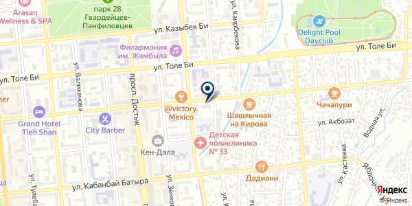 Arvest на карте Алматы