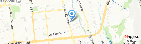 Северо-Каспийская нефтяная компания ТОО на карте Алматы
