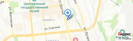 Китайская Народная Республика на карте Алматы