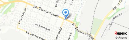 Нурлан на карте Алматы