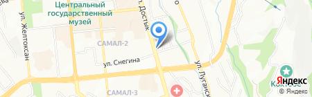 БизнесLife на карте Алматы
