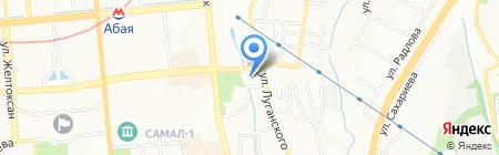 Group Construction на карте Алматы