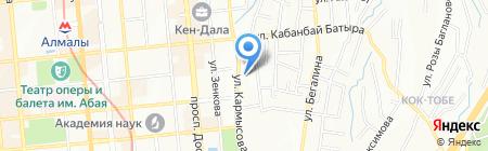 Car Service ASV на карте Алматы