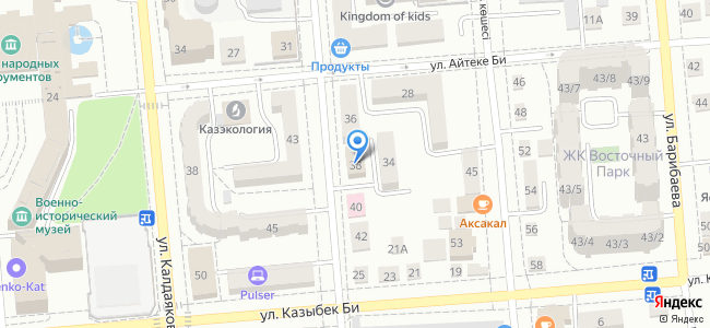 Казахстан, Алматы, улица Ришата и Муслима Абдуллиных, 38