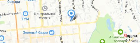 Балакан на карте Алматы