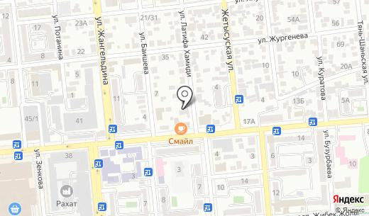 Ертегилер алеминде. В мире сказок. Схема проезда в Алматы