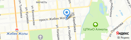 Дорс Казахстан на карте Алматы