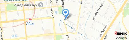 Диамед на карте Алматы