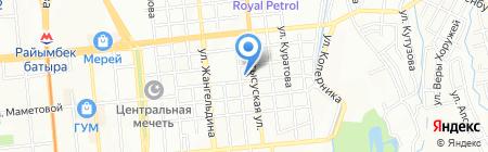 Mega Realty на карте Алматы